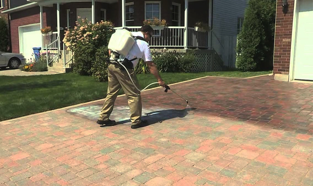 Spray on Paving