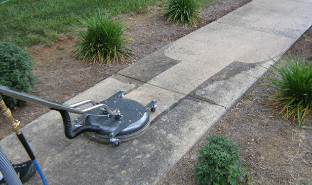 Concrete & Pavement cleaning